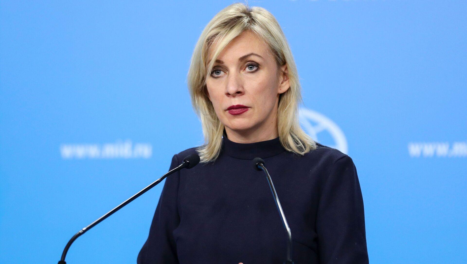 Mluvčí ruského ministerstva zahraničí Maria Zacharovová - Sputnik Česká republika, 1920, 04.03.2021