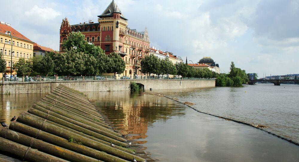 Smetanovo nábřeží v Praze. Ilustrační foto
