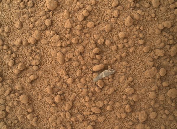 Kousek objektu na povrchu Marsu - Sputnik Česká republika