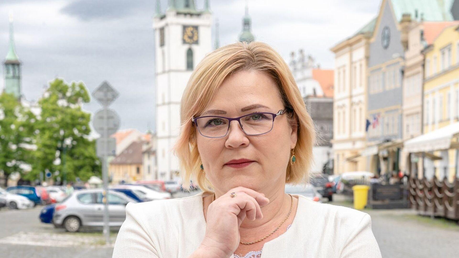 Poslankyně za SPD Monika Jarošová - Sputnik Česká republika, 1920, 08.06.2021