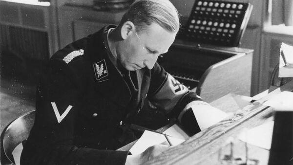 Šéf policie nacistického Německa a zastupující říšský protektor v Čechách a na Moravě Reinhard Heydrich - Sputnik Česká republika