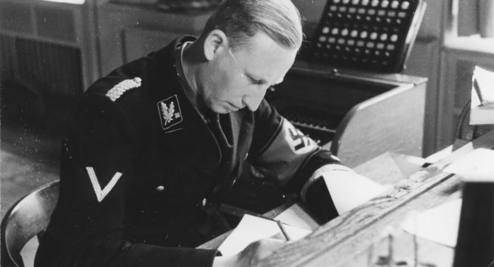 Šéf policie nacistického Německa a zastupující říšský protektor v Čechách a na Moravě Reinhard Heydrich