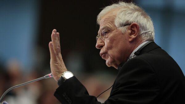 Vysoký představitel Evropské unie pro zahraniční a bezpečnostní politiku Josep Borrell Evropské unie Josep Borrell - Sputnik Česká republika