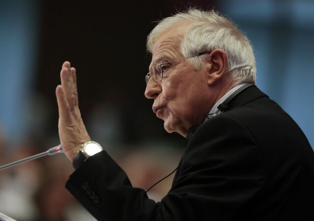 Ministr zahraničních věcí Evropské unie Josep Borrell