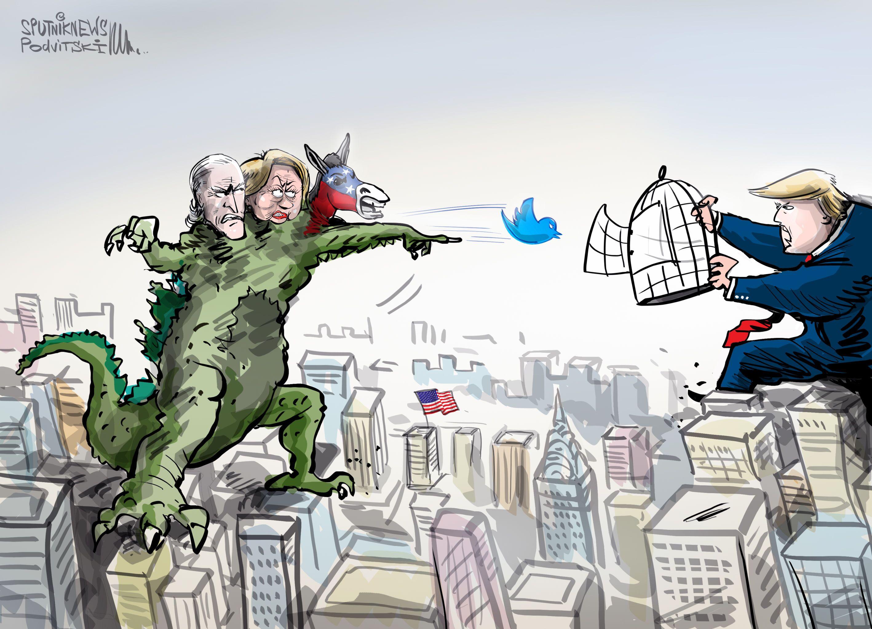 Trump obvinil sociální sítě z potlačování konzervativců