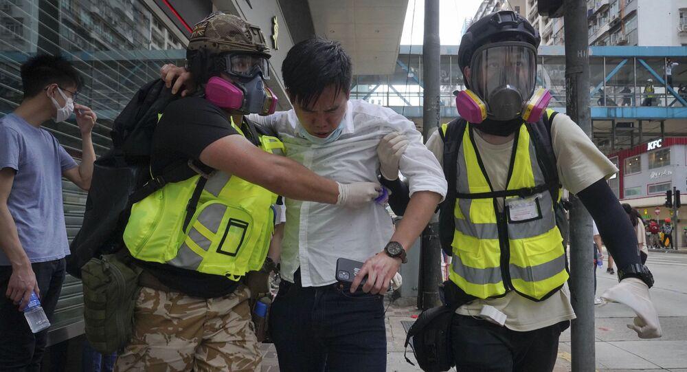 Protivládní protesty v Hongkongu