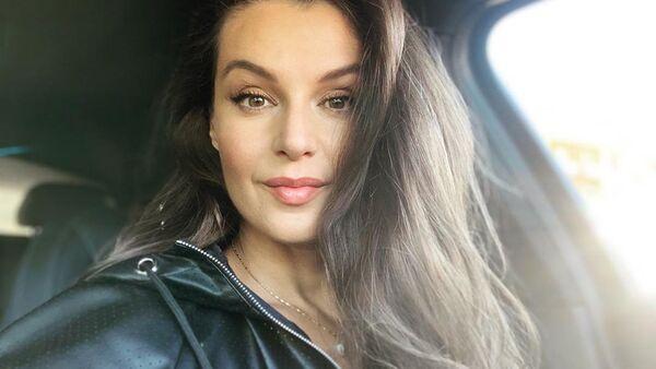 Česká modelka, moderátorka a herečka Iva Kubelková - Sputnik Česká republika