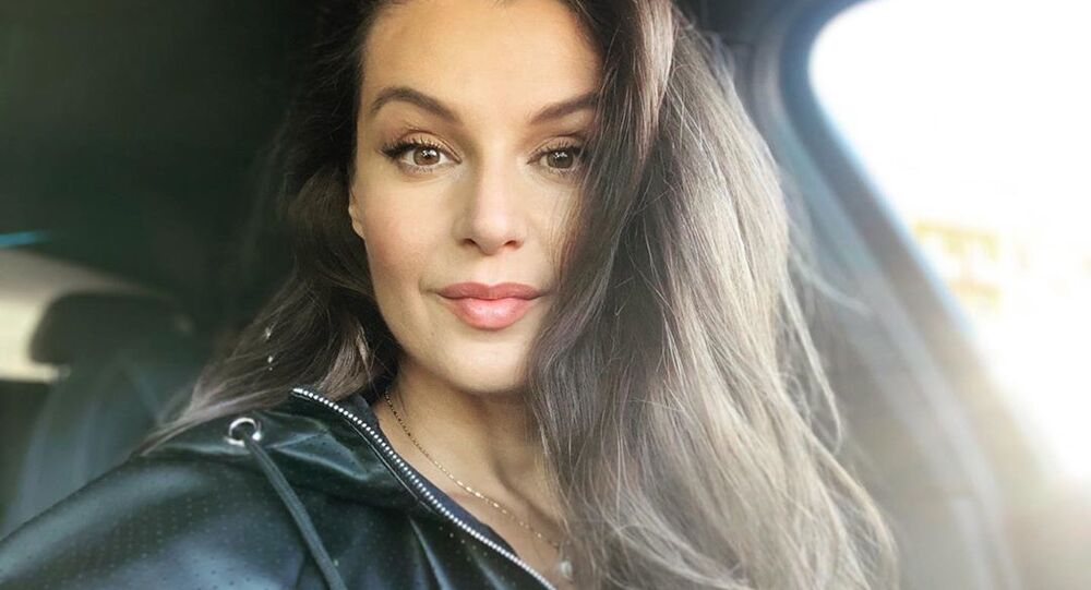 Česká modelka, moderátorka a herečka Iva Kubelková