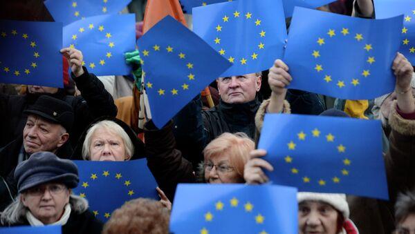 Vlajky EU - Sputnik Česká republika