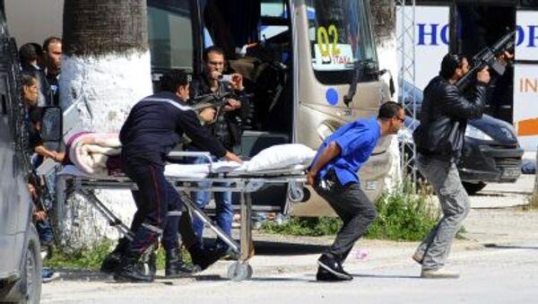 Evakuace turistů v Tunisku - Sputnik Česká republika