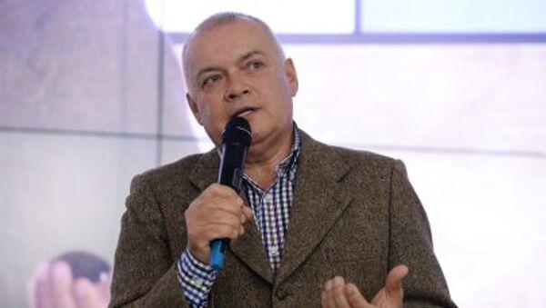 Generální ředitel MIA Rossia Segodnia Dmitrij Kiseljov - Sputnik Česká republika