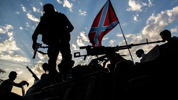 Domobranci v Donbasu - Sputnik Česká republika
