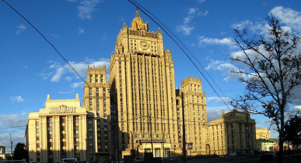 Budova MZV Ruska