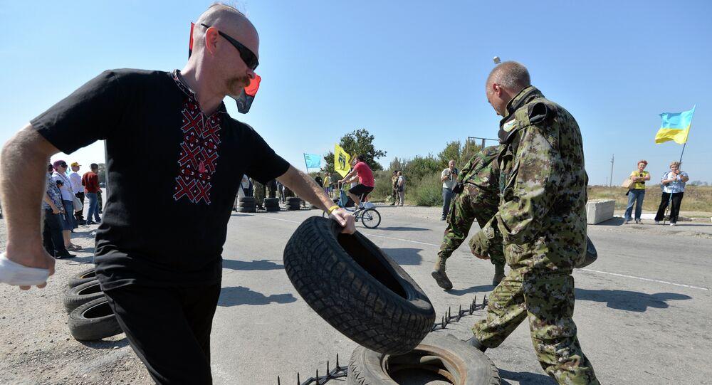 Hraniční přechody na Krymu