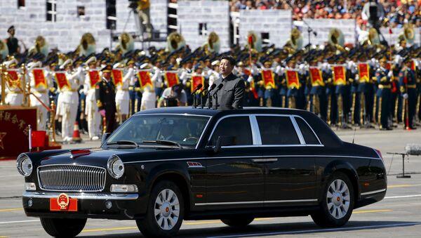 Čínský prezident Si Ťin-pching - Sputnik Česká republika