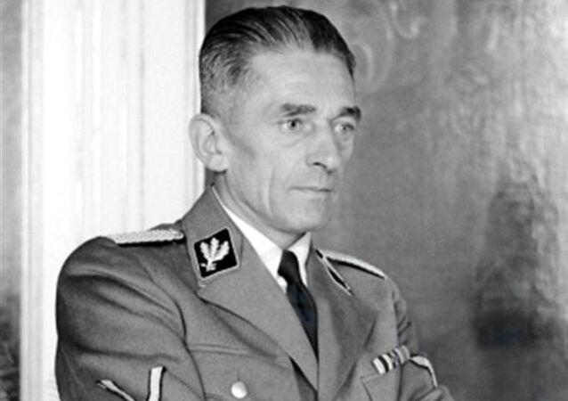 Říšský ministr pro Protektorát Čechy a Morava Karel Hermann Frank