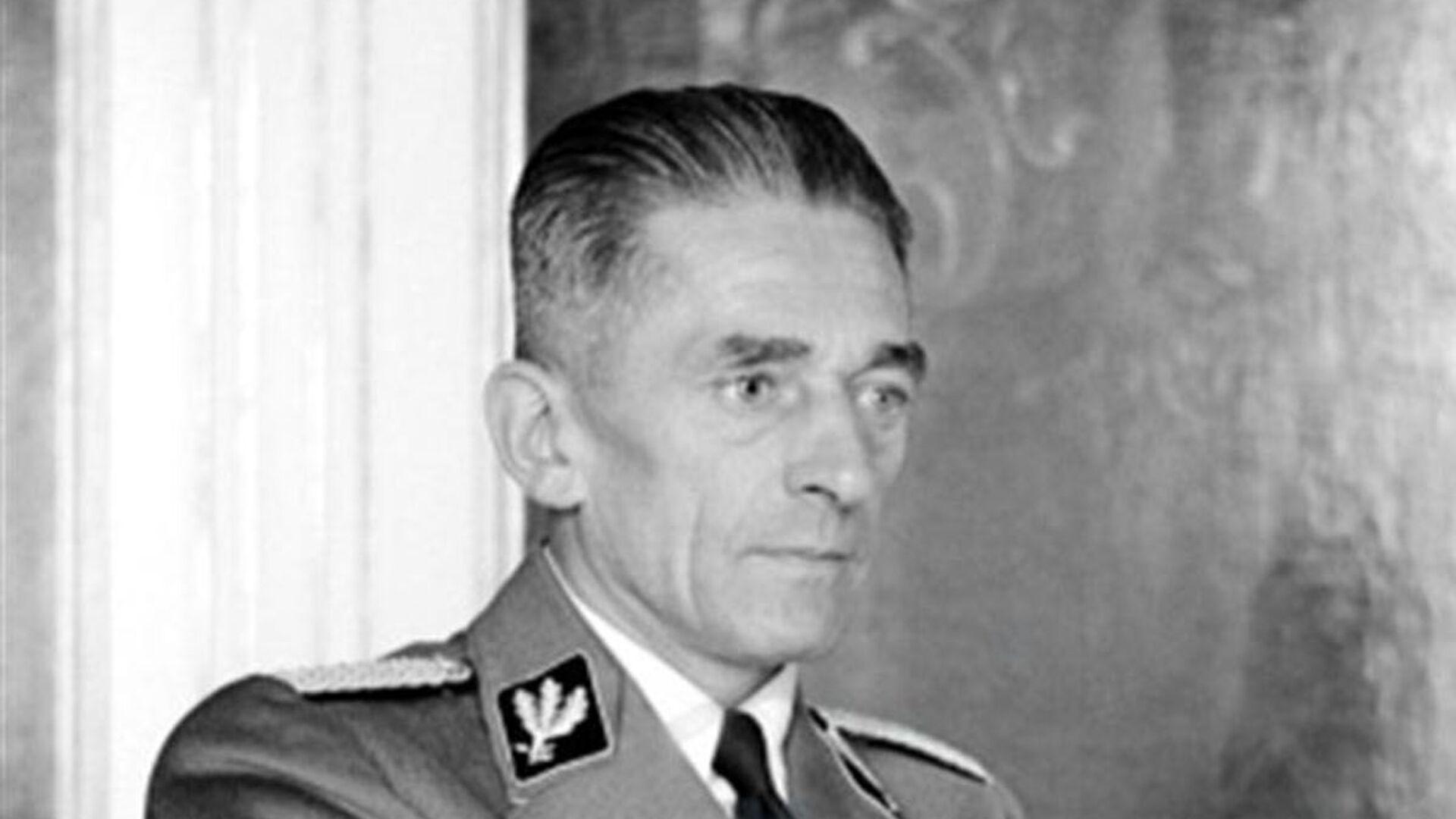 Říšský ministr pro Protektorát Čechy a Morava Karel Hermann Frank - Sputnik Česká republika, 1920, 22.05.2021