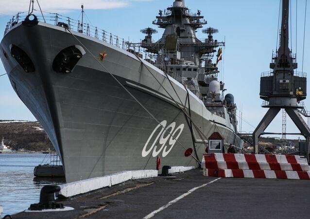Jaderný křižník Petr Veliký: Vlajková loď ruského Severního loďstva