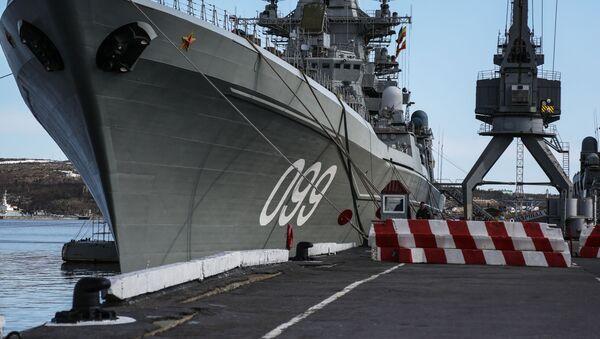 Jaderný křižník Petr Veliký: Vlajková loď ruského Severního loďstva - Sputnik Česká republika