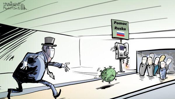 Ruská pomoc - Sputnik Česká republika