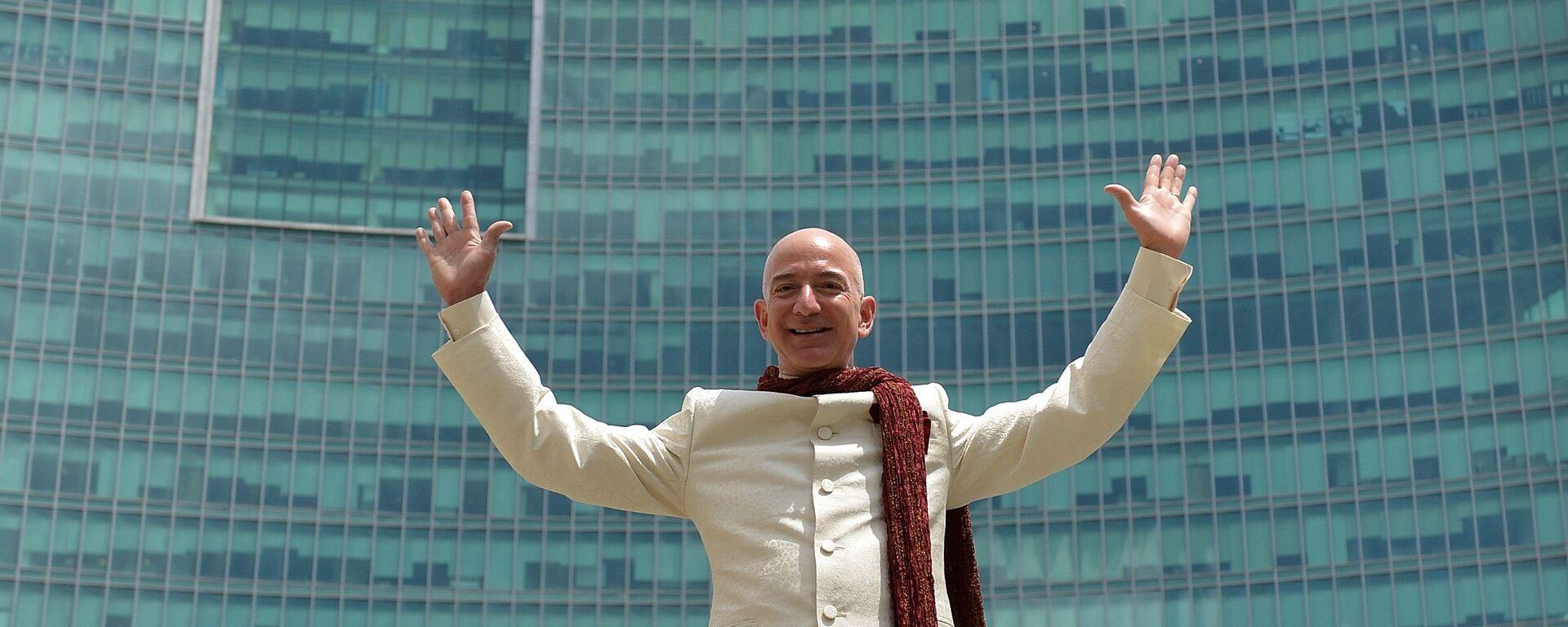 Šéf společnosti Amazon Jeff Bezos - Sputnik Česká republika, 1920, 29.05.2020