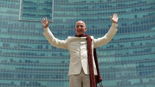 Šéf společnosti Amazon Jeff Bezos - Sputnik Česká republika