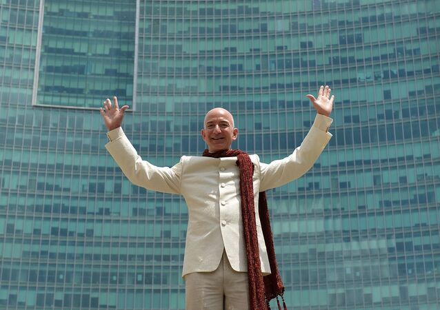 Šéf společnosti Amazon Jeff Bezos