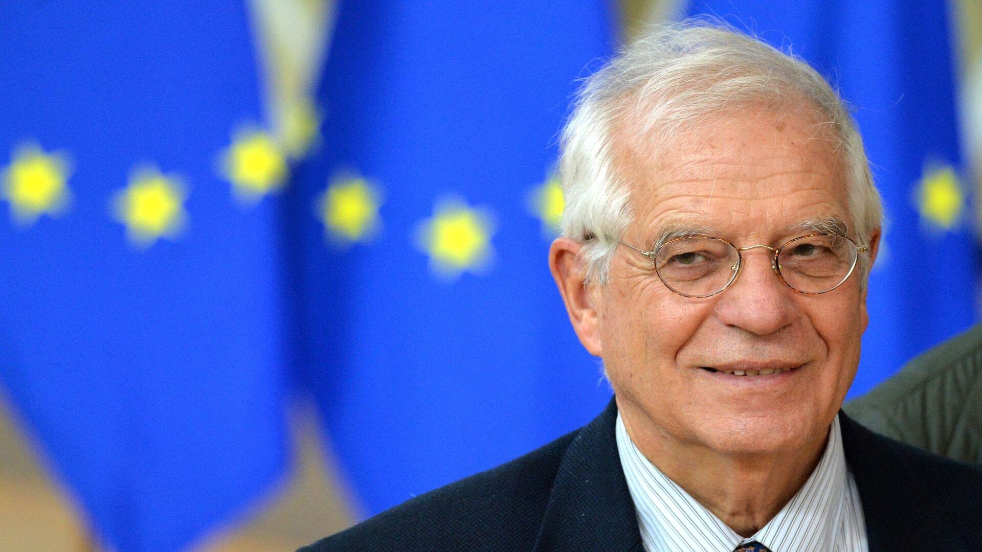 Vysoký představitel EU pro zahraniční a bezpečnostní politiku Josep Borrell - Sputnik Česká republika, 1920, 18.05.2021