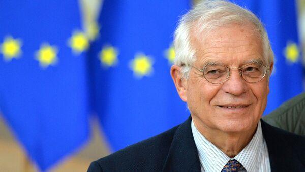 Vysoký představitel EU pro zahraniční a bezpečnostní politiku Josep Borrell - Sputnik Česká republika