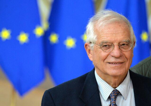 Vysoký představitel EU pro zahraniční a bezpečnostní politiku Josep Borrell