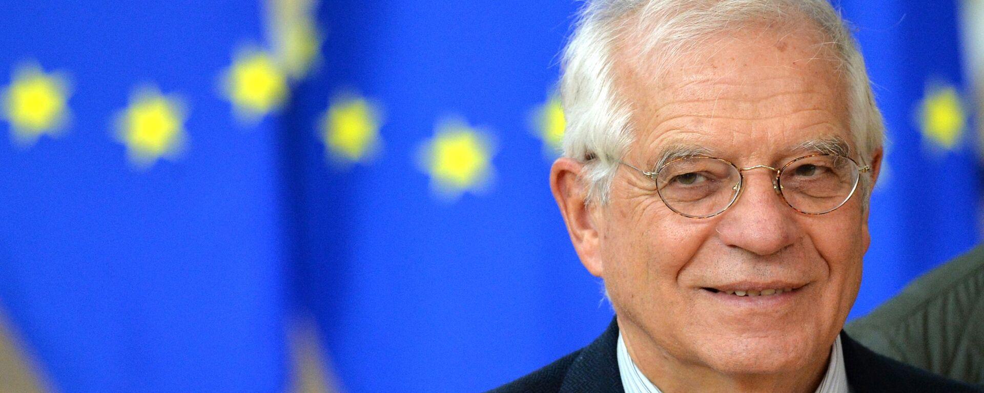 Vysoký představitel EU pro zahraniční a bezpečnostní politiku Josep Borrell - Sputnik Česká republika, 1920, 29.06.2021