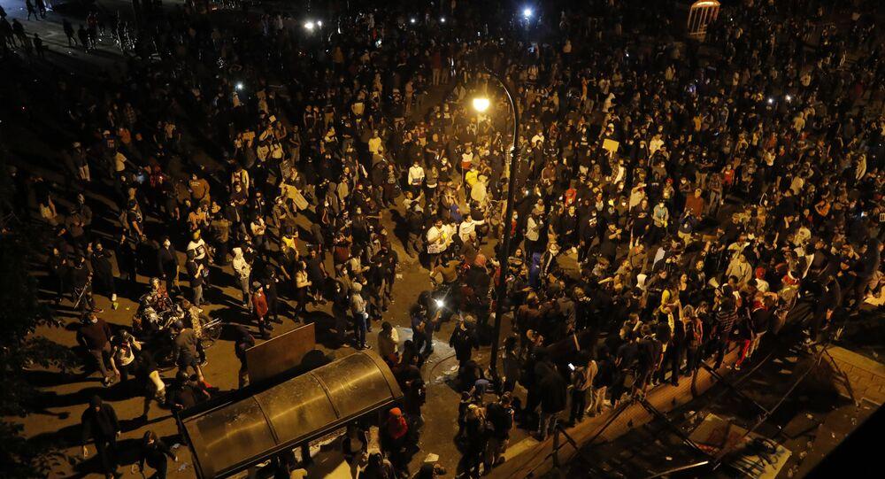 Protesty v Minneapolisu