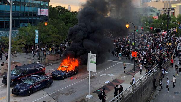 Protestní akce v USA - Sputnik Česká republika