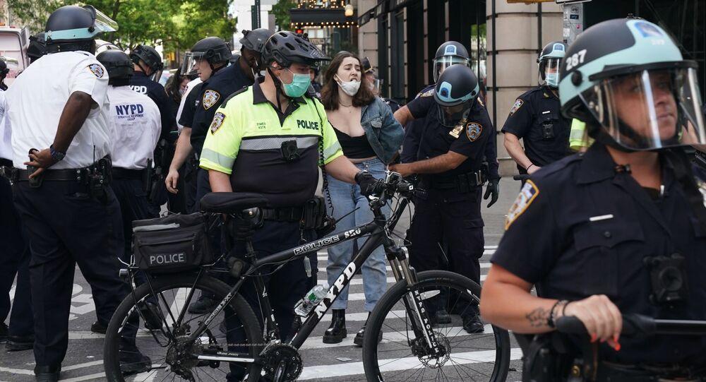 Protesty v New Yorku