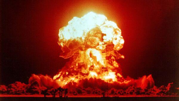 Jaderná exploze v Nevadě, 1953 - Sputnik Česká republika