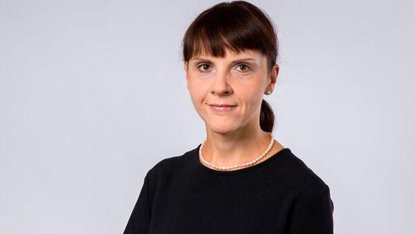 Polská diplomatka Barbara Ćwiorová - Sputnik Česká republika