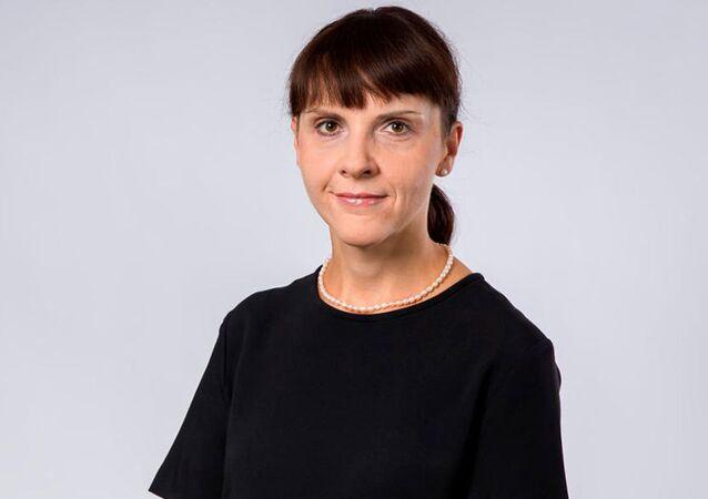 Polská diplomatka Barbara Ćwiorová