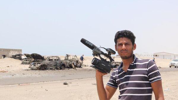 Nabil Hassan, korespondent video agentury Ruptly - Sputnik Česká republika