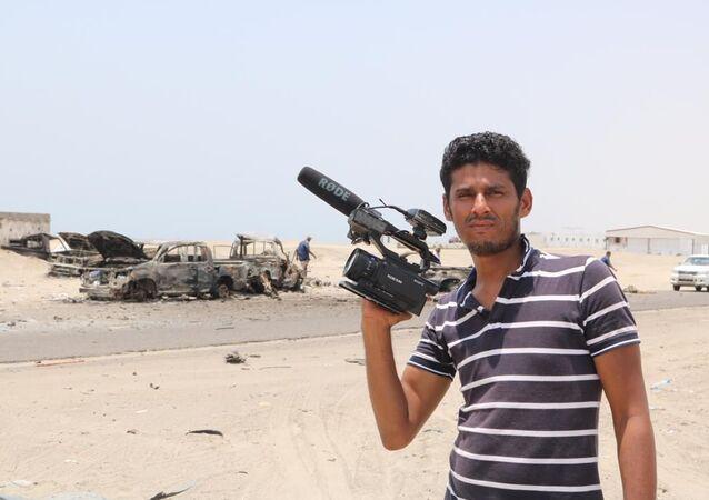 Nabil Hassan, korespondent video agentury Ruptly