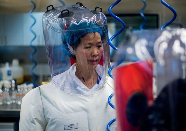 Čínská laboratoř ve Wu-chanu