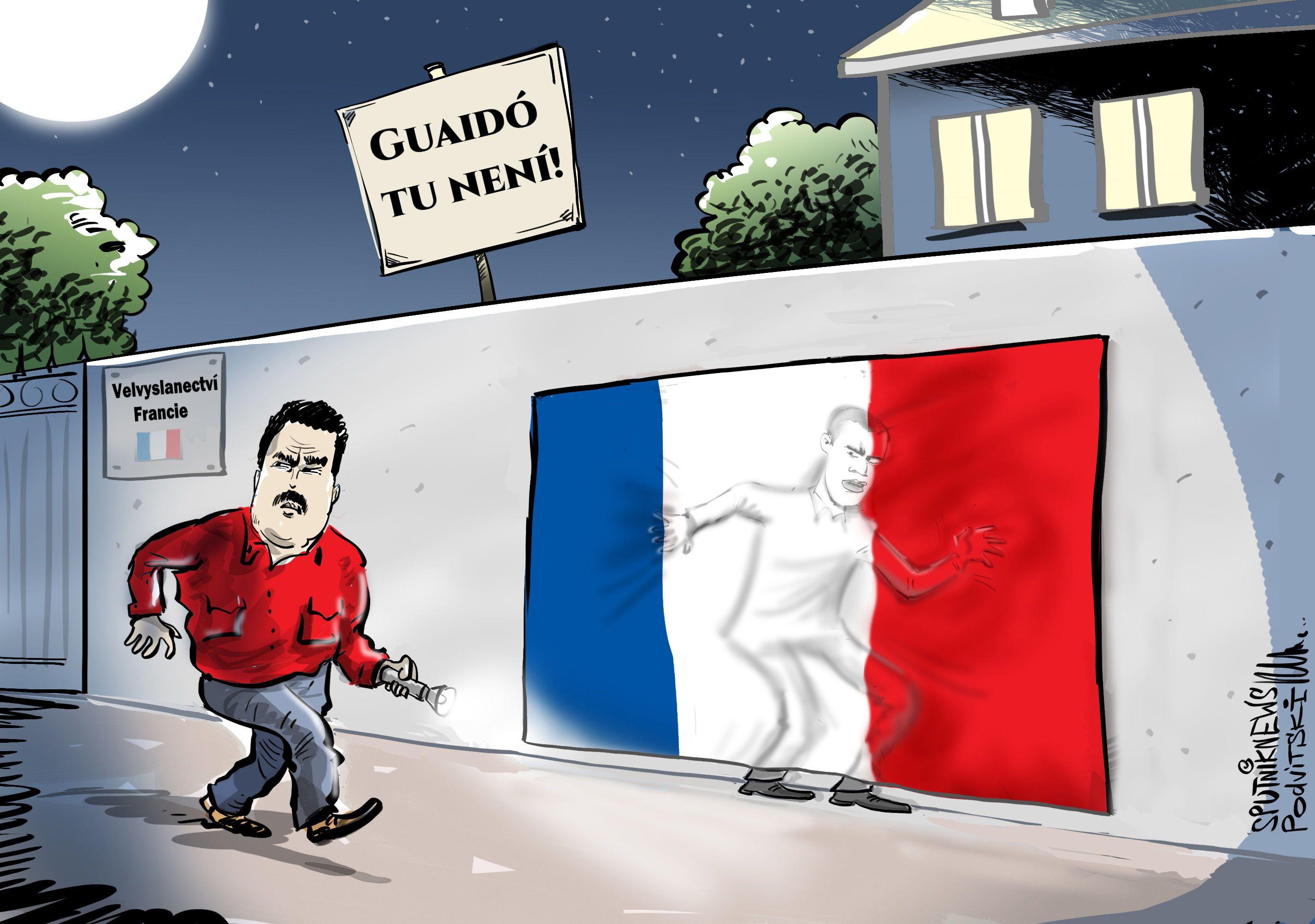 Kam se ztratil Juan Guaidó?