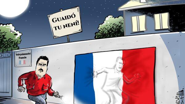 Kam se ztratil Juan Guaidó? - Sputnik Česká republika