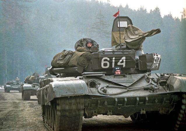 Stažení sovětské armády z Československa