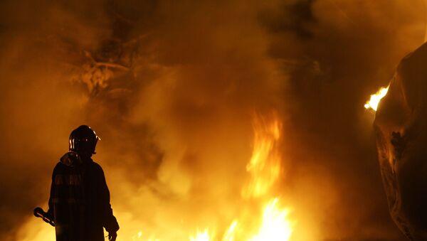 Požár. Ilustrační foto - Sputnik Česká republika