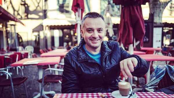 Investigativní novinář Ondřej Kundra - Sputnik Česká republika