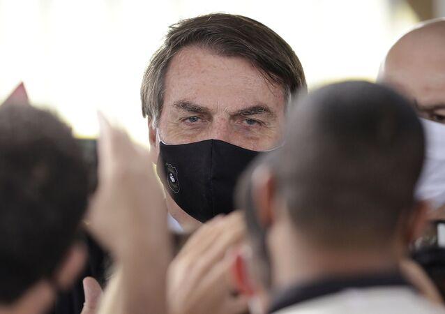 Prezident Brazílie Jair Bolsonaro