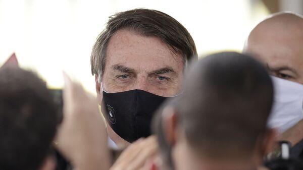 Prezident Brazílie Jair Bolsonaro - Sputnik Česká republika