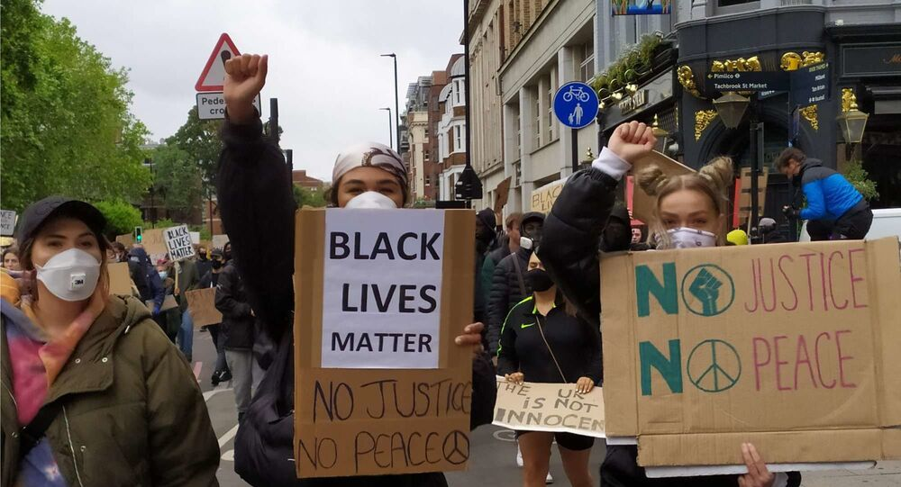 Protesty v Londýně