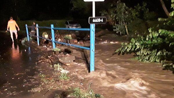 Lokální povodně na Olomoucku. Ilustrační foto - Sputnik Česká republika