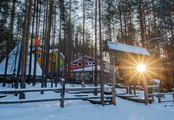 Turistický komplex Karjala Park v Karélii - Sputnik Česká republika